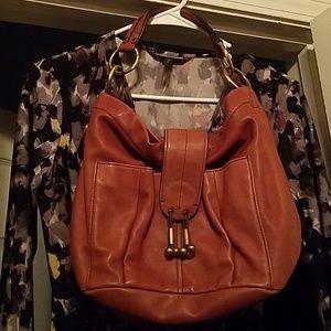 Ellen Tracy leather purse